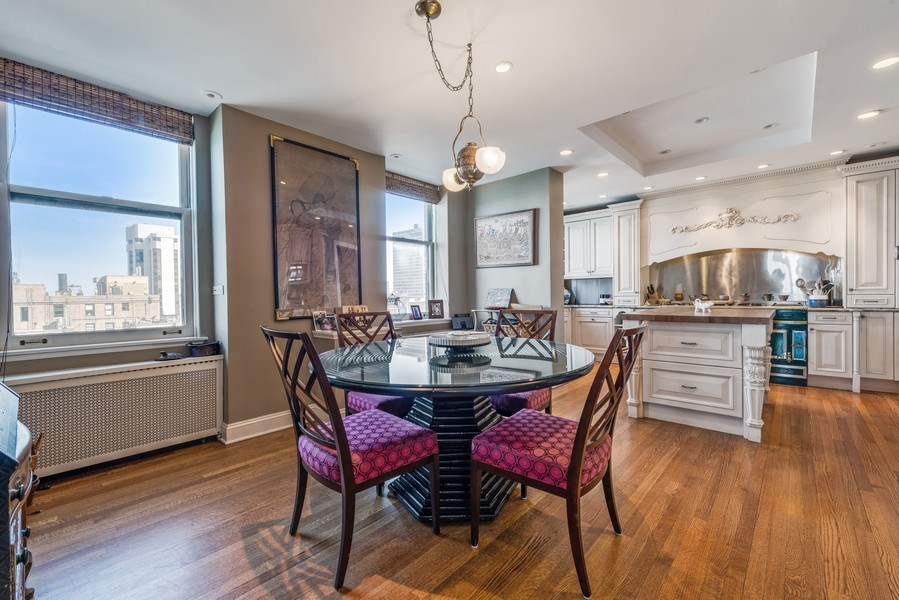 Real Estate Photography - 179 East Lake Shore Drive, Apartment 22E, Chicago, IL, 60611 - Kitchen / Breakfast Room
