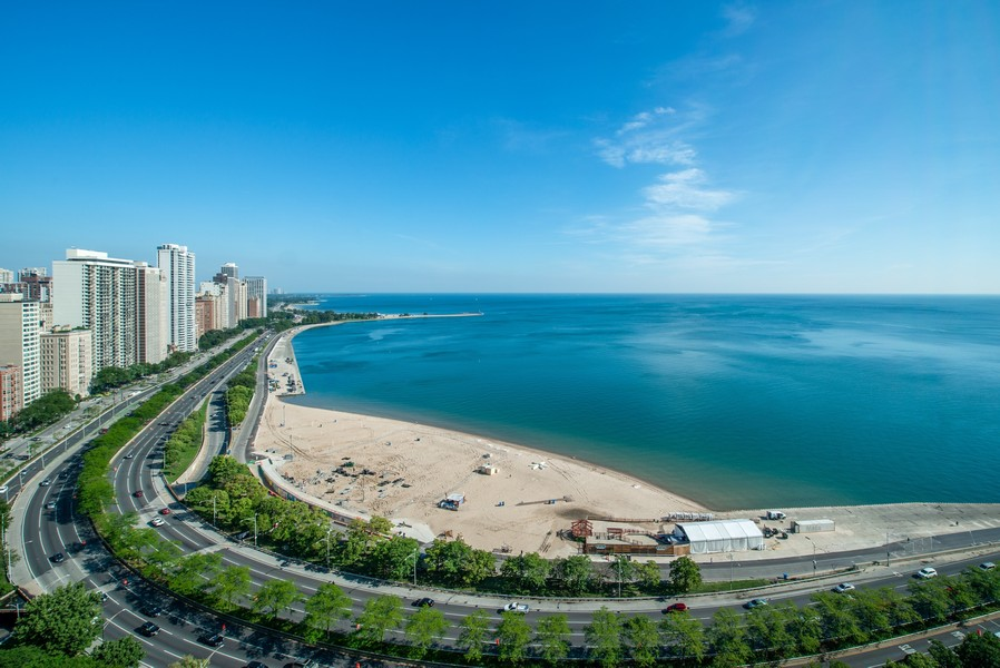 Real Estate Photography - 179 East Lake Shore Drive, Apartment 22E, Chicago, IL, 60611 - North View