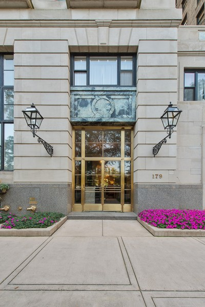 Real Estate Photography - 179 East Lake Shore Drive, Apartment 22E, Chicago, IL, 60611 - Drake Tower Entrance