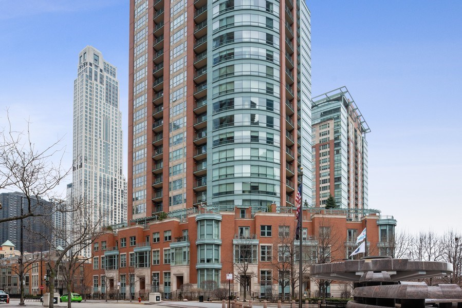 Real Estate Photography - 415 E North Water St, Unit 2803, Chicago, IL, 60611 - Front View