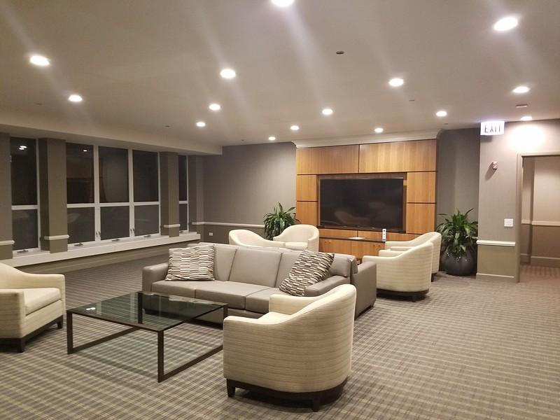 Real Estate Photography - 415 E North Water St, Unit 2803, Chicago, IL, 60611 - Entertainment Suite