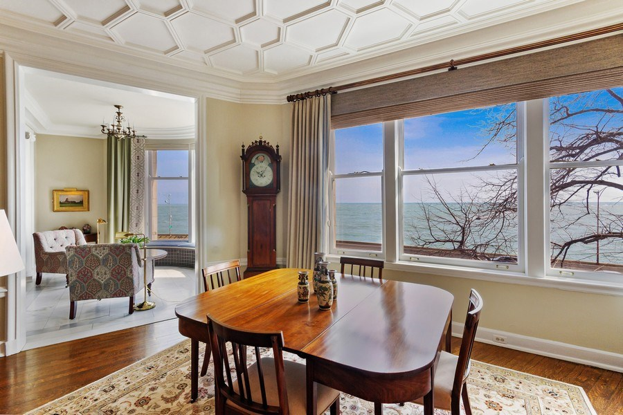 Real Estate Photography - 999 Lake Shore Dr, 3C, Chicago, IL, 60611 - Dining Area