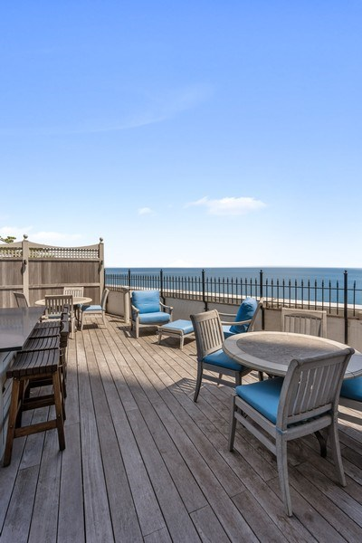 Real Estate Photography - 999 Lake Shore Dr, 3C, Chicago, IL, 60611 - Deck