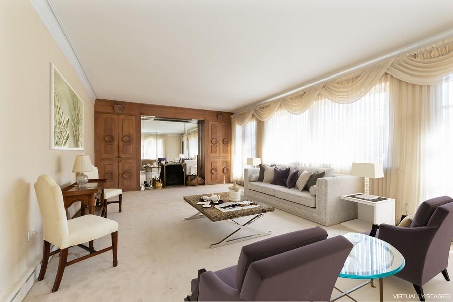 Real Estate Photography - 6936 S Euclid Ave, Chicago, IL, 60649 - Living Room