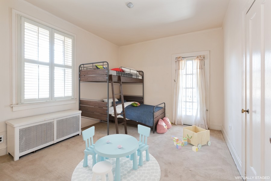 Real Estate Photography - 6936 S Euclid Ave, Chicago, IL, 60649 - 2nd Bedroom