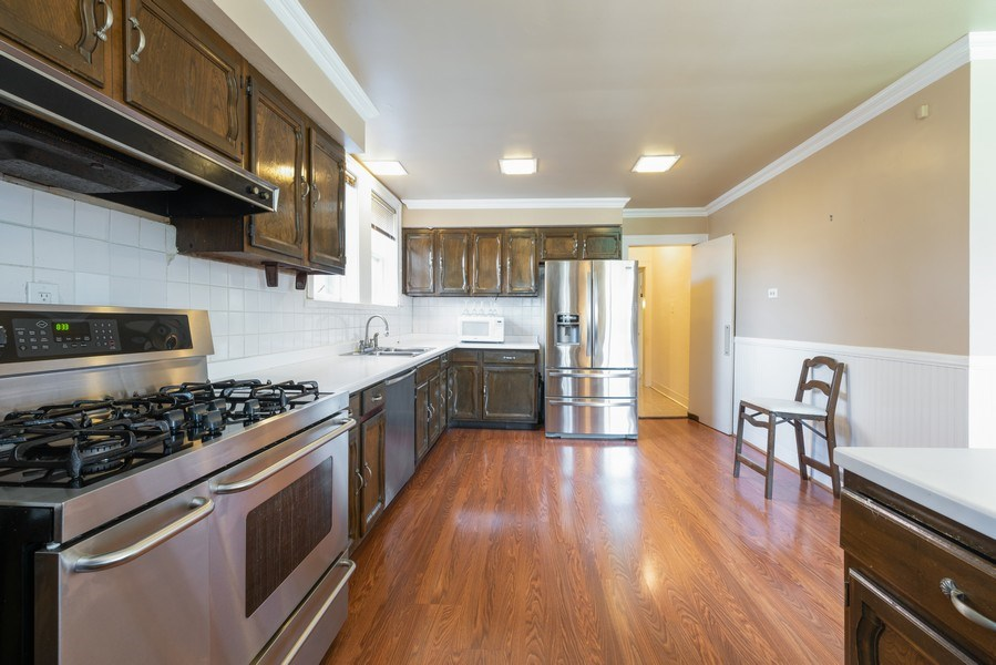 Real Estate Photography - 6936 S Euclid Ave, Chicago, IL, 60649 - Kitchen
