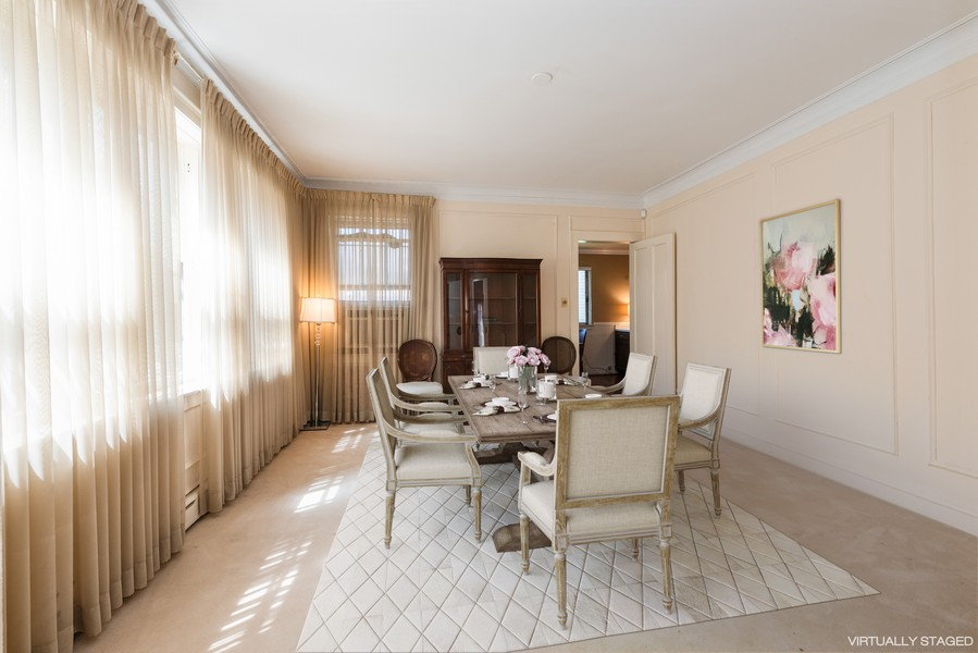Real Estate Photography - 6936 S Euclid Ave, Chicago, IL, 60649 - Dining Room