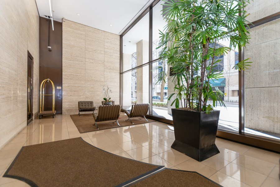 Real Estate Photography - 260 E Chestnut St, Chicago, IL, 60611 - Lobby