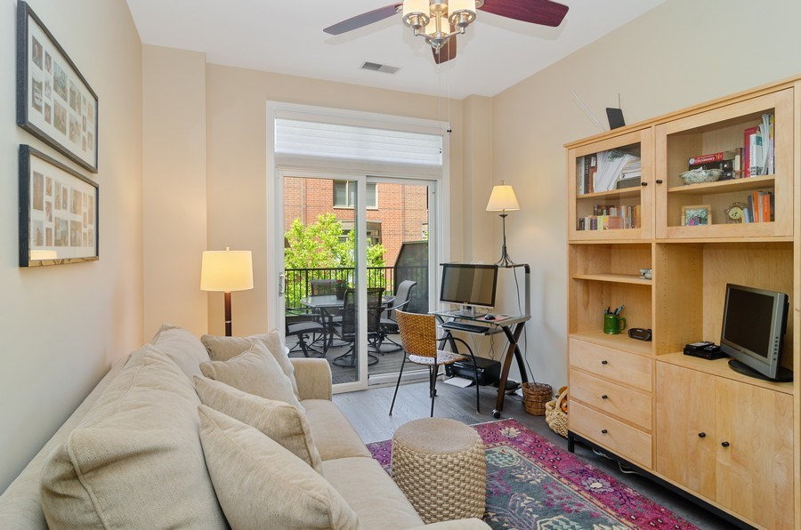 Real Estate Photography - 550 W Fulton, 202, Chicago, IL, 60661 - 2nd Bedroom