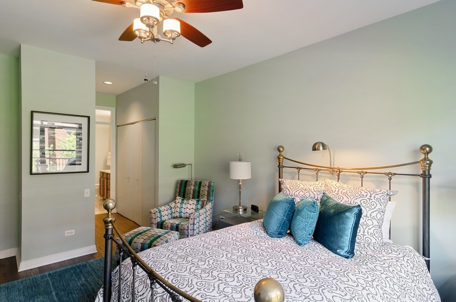 Real Estate Photography - 550 W Fulton, 202, Chicago, IL, 60661 - Master Bedroom