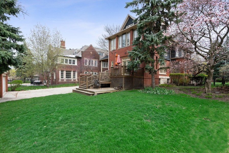 Real Estate Photography - 5016 S Greenwood, Chicago, IL, 60615 - Back Yard
