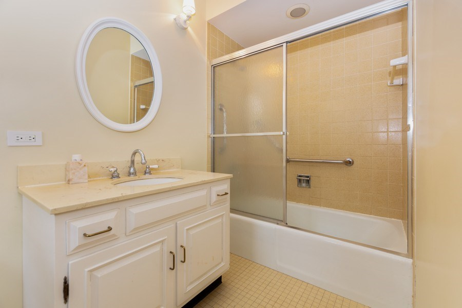 Real Estate Photography - 714 S Madison St, Hinsdale, IL, 60521 - 2nd Bathroom