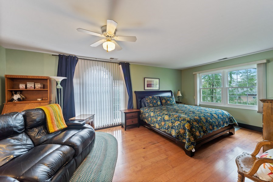 Real Estate Photography - 1230 Good Ave, Park Ridge, IL, 60068 - Master Bedroom