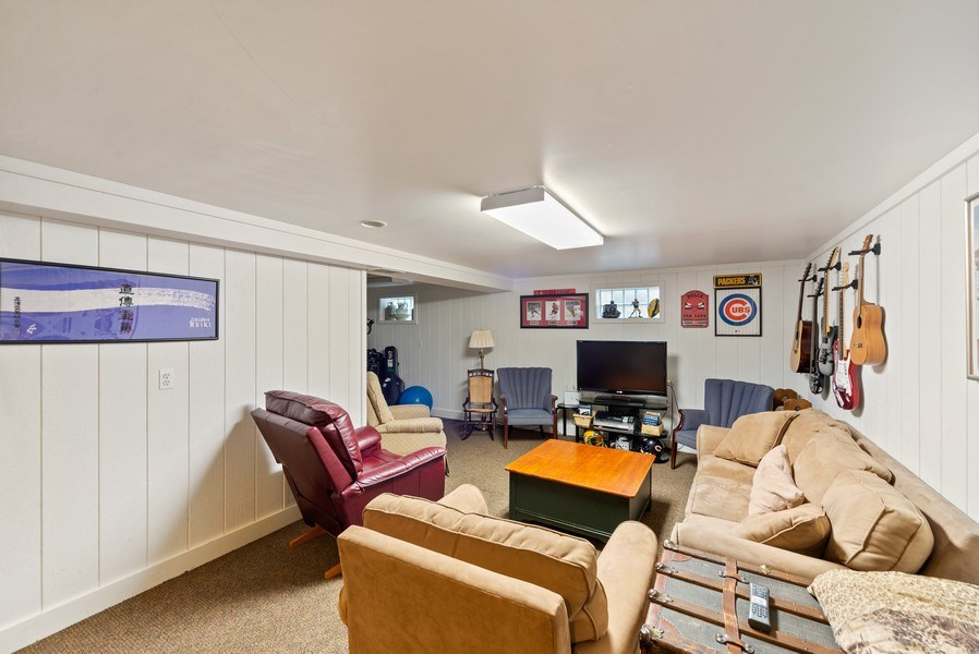 Real Estate Photography - 1230 Good Ave, Park Ridge, IL, 60068 - Recreation Room