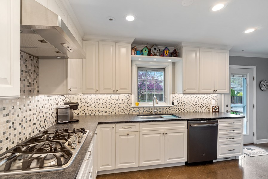Real Estate Photography - 1230 Good Ave, Park Ridge, IL, 60068 - Kitchen