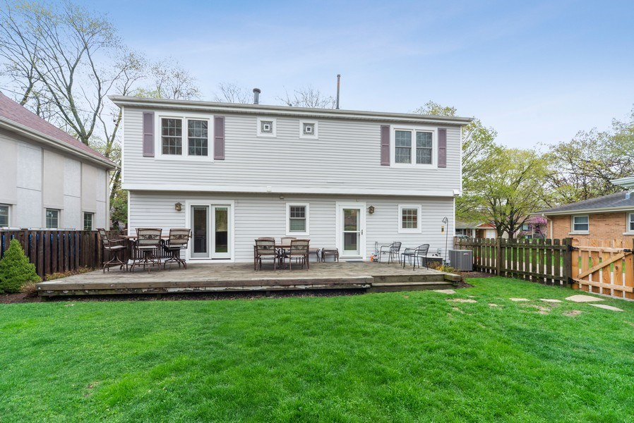 Real Estate Photography - 1230 Good Ave, Park Ridge, IL, 60068 - Rear View