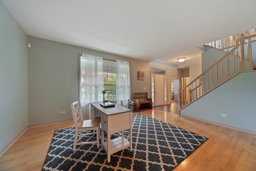 Real Estate Photography - 768 Alleghany Rd., Grayslake, IL, 60030 - Living Room