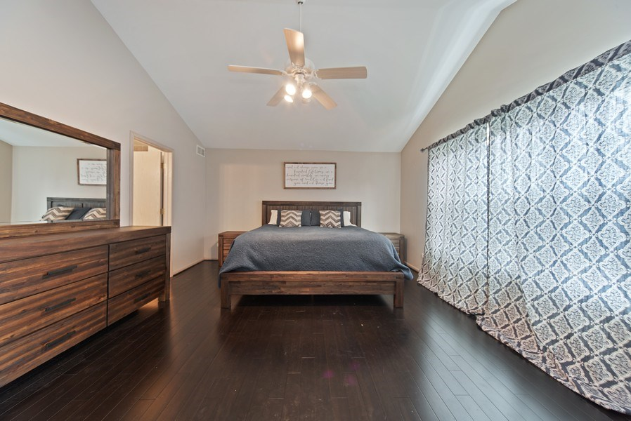 Real Estate Photography - 768 Alleghany Rd., Grayslake, IL, 60030 - Master Bedroom
