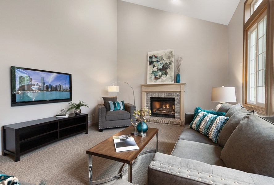 Real Estate Photography - 768 Alleghany Rd., Grayslake, IL, 60030 - Family Room