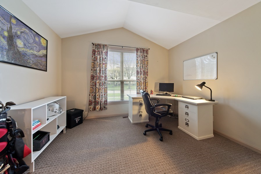 Real Estate Photography - 768 Alleghany Rd., Grayslake, IL, 60030 - Office