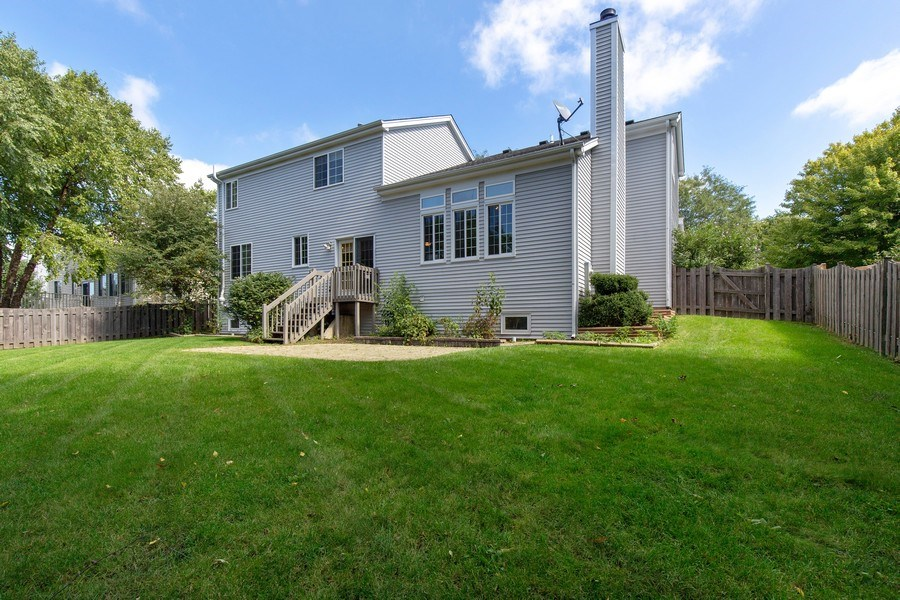 Real Estate Photography - 768 Alleghany Rd., Grayslake, IL, 60030 - Rear View