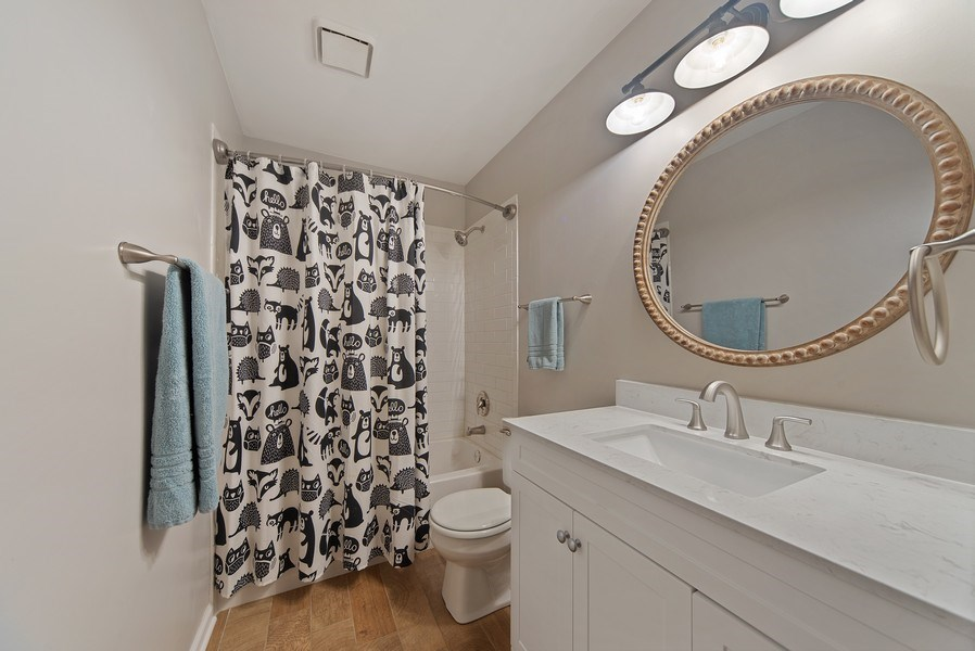 Real Estate Photography - 768 Alleghany Rd., Grayslake, IL, 60030 - 2nd Bathroom