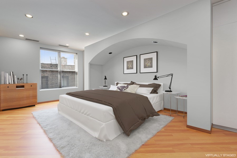 Real Estate Photography - 1340 N State Parkway, APT 4S, Chicago, IL, 60610 - 3rd Bedroom