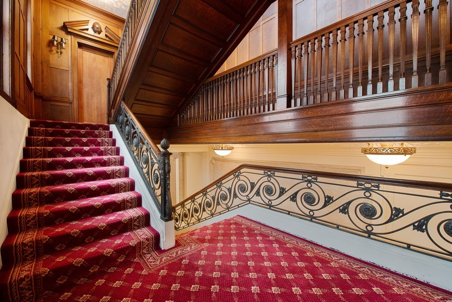 Real Estate Photography - 1340 N State Parkway, APT 4S, Chicago, IL, 60610 - Staircase