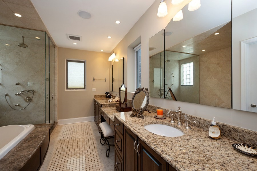 Real Estate Photography - 112 W Delaware, Chicago, IL, 60610 - Master Bathroom