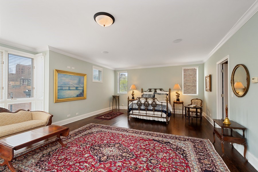 Real Estate Photography - 112 W Delaware, Chicago, IL, 60610 - Master Bedroom