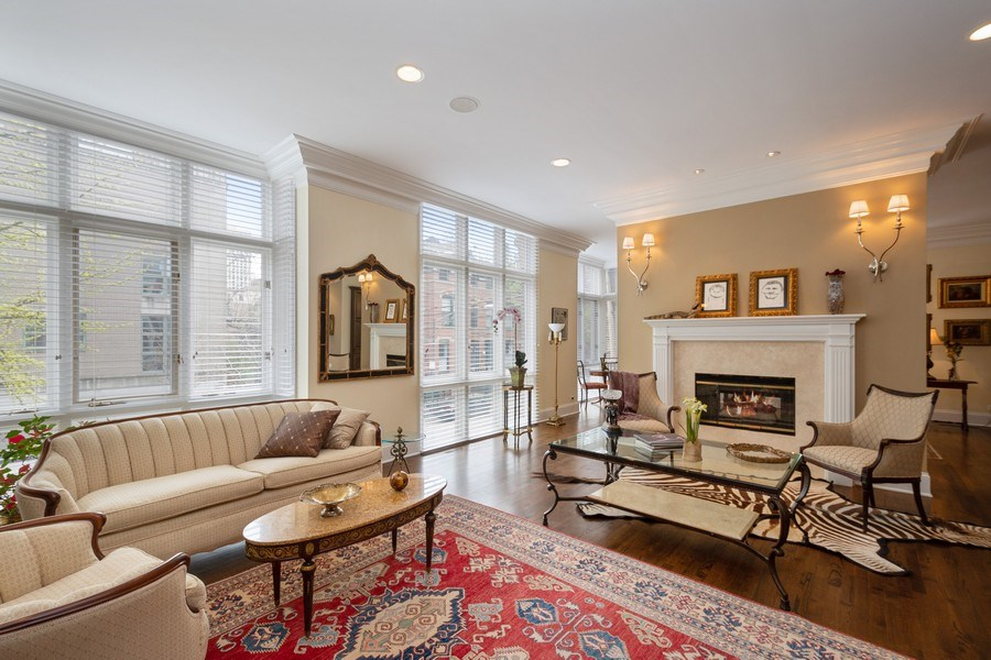 Real Estate Photography - 112 W Delaware, Chicago, IL, 60610 - Living Room