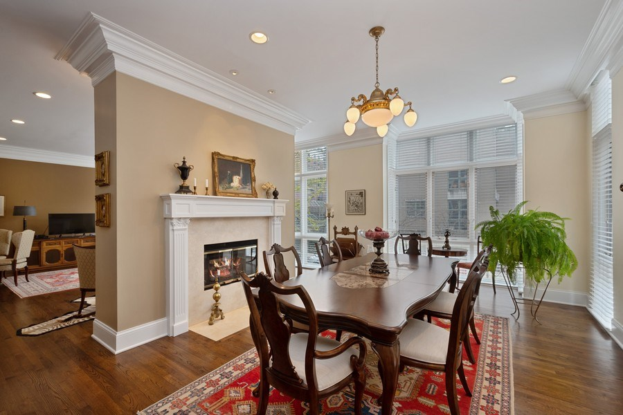 Real Estate Photography - 112 W Delaware, Chicago, IL, 60610 - Dining Room