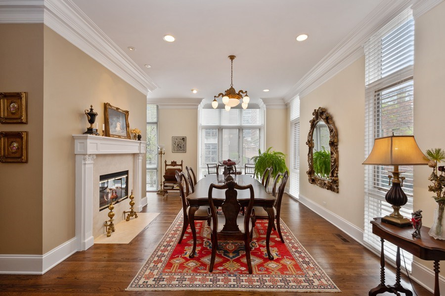 Real Estate Photography - 112 W Delaware, Chicago, IL, 60610 - Dining Area