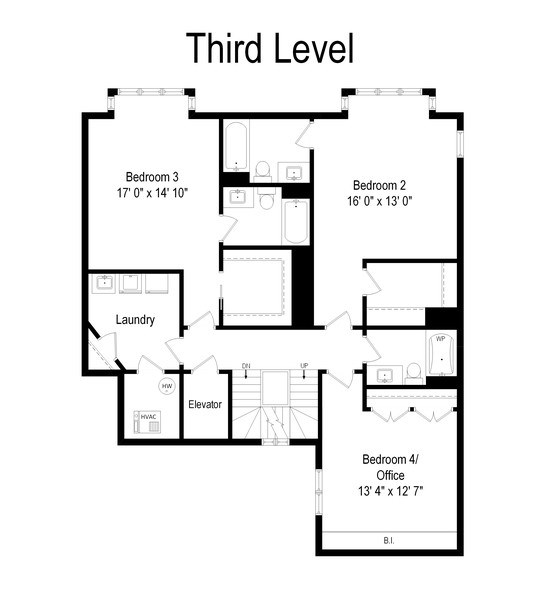 Real Estate Photography - 112 W Delaware, Chicago, IL, 60610 - Floor Plan