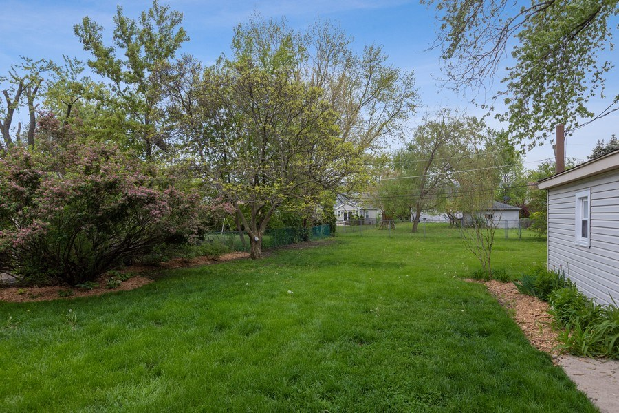 Real Estate Photography - 2037 East Touhy, Des Plaines, IL, 60018 - Back Yard
