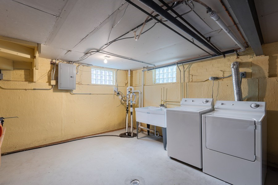 Real Estate Photography - 2037 East Touhy, Des Plaines, IL, 60018 - Laundry Room