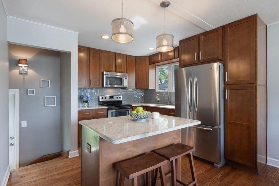 Real Estate Photography - 2037 East Touhy, Des Plaines, IL, 60018 - Kitchen