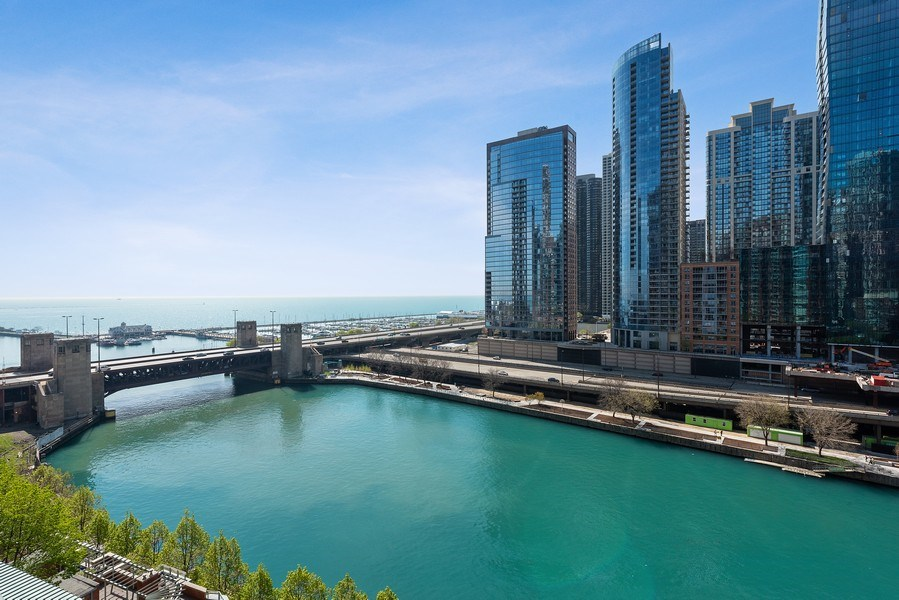 Real Estate Photography - 415 E North Water Street, 1303, CHicago, IL, 60611 - View