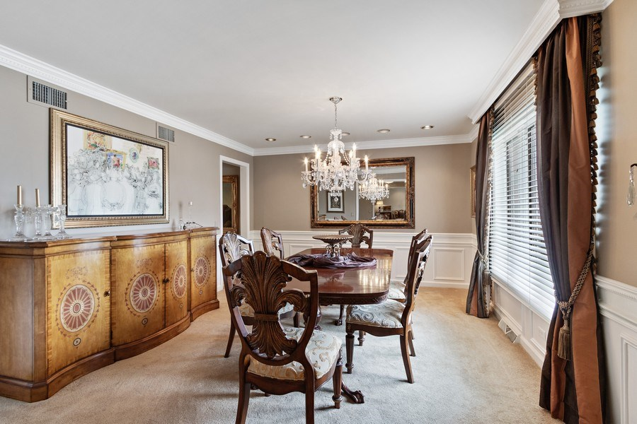 Real Estate Photography - 1039 N Derbyshire Ave, Arlington Heights, IL, 60004 - Dining Room