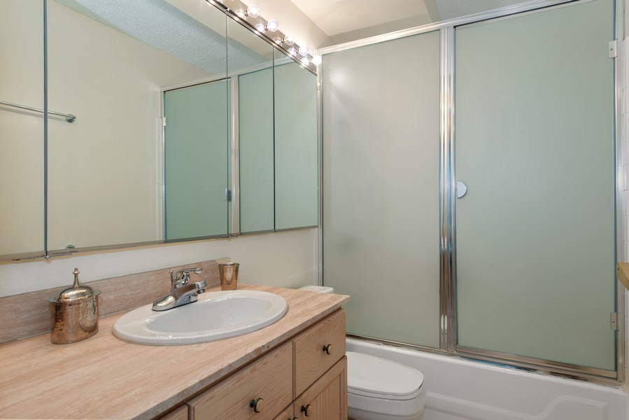 Real Estate Photography - 195 N Harbor Dr, Unit 3505, Chicago, IL, 60601 - Bathroom