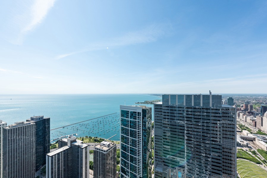 Real Estate Photography - 225 N Columbus Ave, Unit 7807, Chicago, IL, 60601 - Lake View