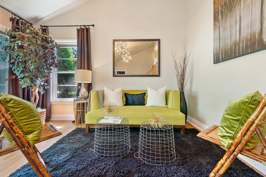 Real Estate Photography - 319 Maple Street, Glen Ellyn, IL, 60137 - Living Room