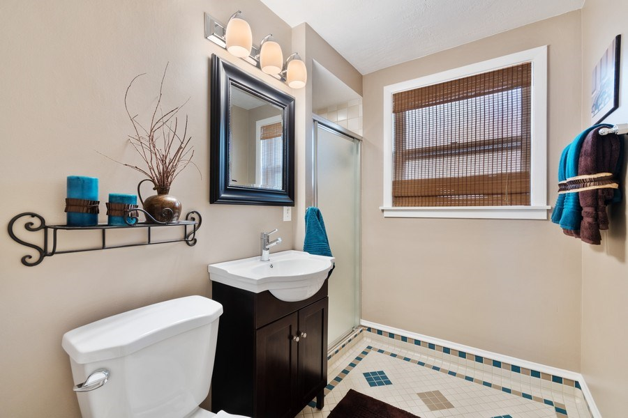 Real Estate Photography - 319 Maple Street, Glen Ellyn, IL, 60137 - 3rd Bathroom