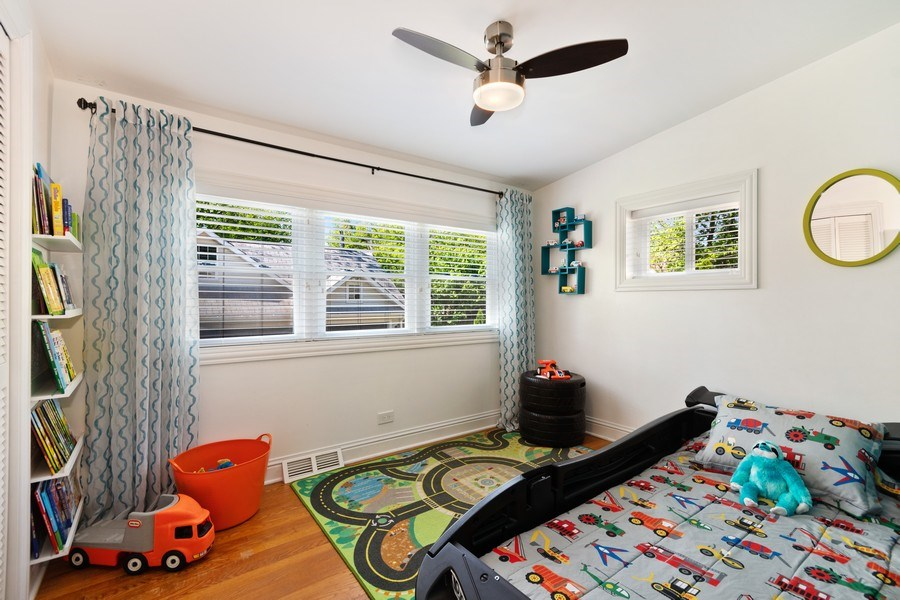 Real Estate Photography - 319 Maple Street, Glen Ellyn, IL, 60137 - 2nd Bedroom