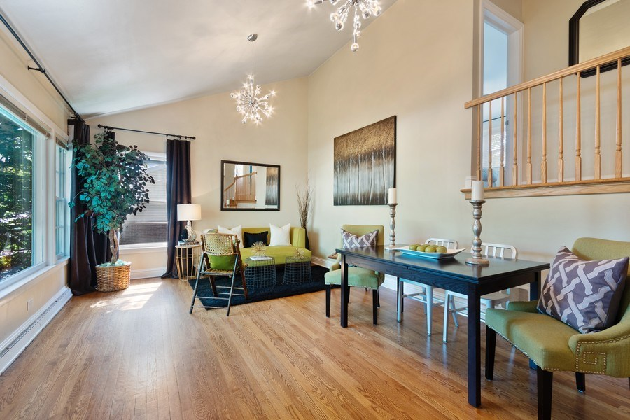 Real Estate Photography - 319 Maple Street, Glen Ellyn, IL, 60137 - Dining Room