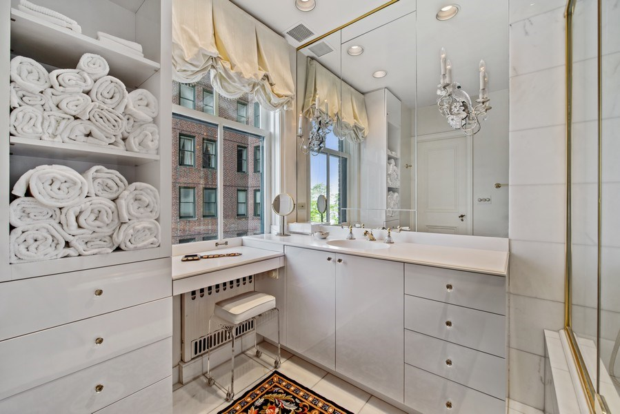 Real Estate Photography - 179 East Lake Shore Drive, Apartment 601, Chicago, IL, 60611 - Master Bathroom