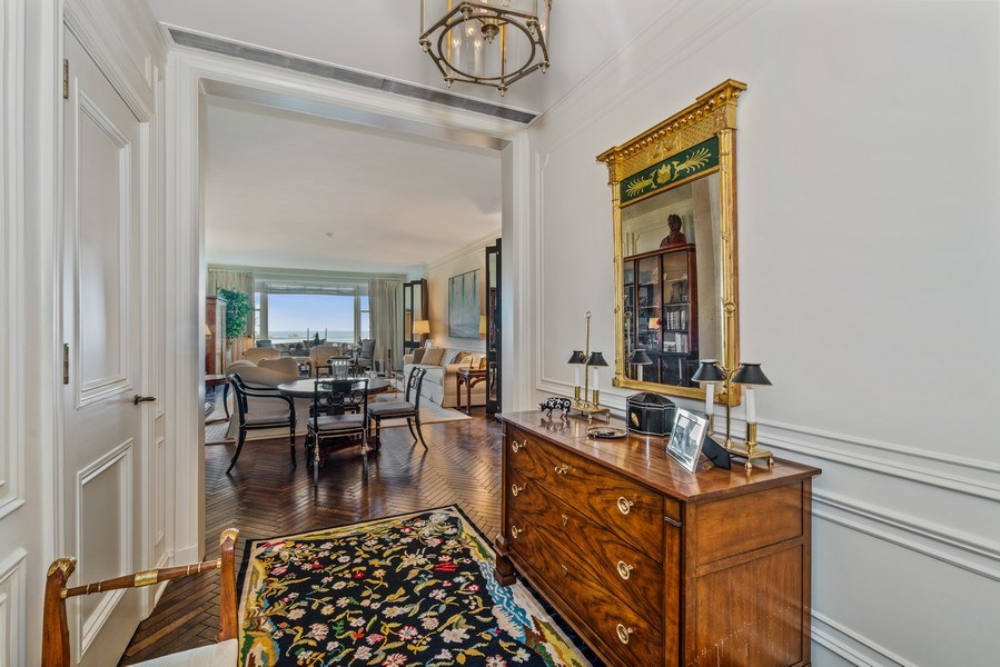 Real Estate Photography - 179 East Lake Shore Drive, Apartment 601, Chicago, IL, 60611 - Foyer