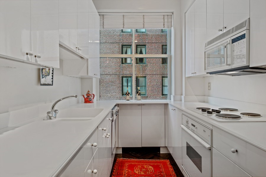 Real Estate Photography - 179 East Lake Shore Drive, Apartment 601, Chicago, IL, 60611 - Kitchen