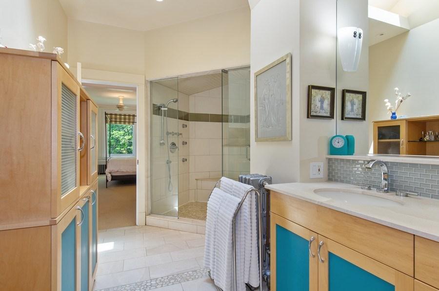 Real Estate Photography - 2039 W Cullom, Chicago, IL, 60618 - Master Bathroom