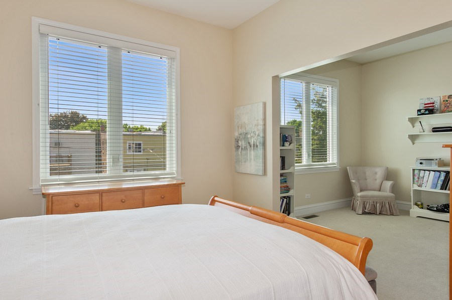 Real Estate Photography - 2039 W Cullom, Chicago, IL, 60618 - 2nd Bedroom